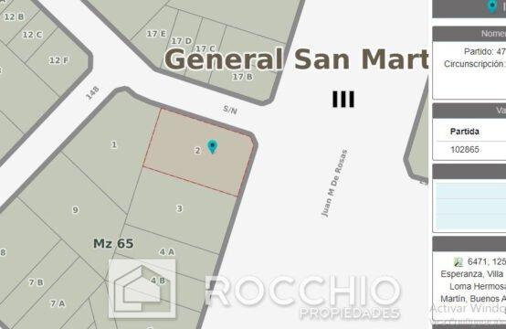 Lote en Loma Hermosa, Av. Márquez 5000
